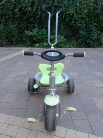 Rower, rowerek trójkołowy pchacz, wózek