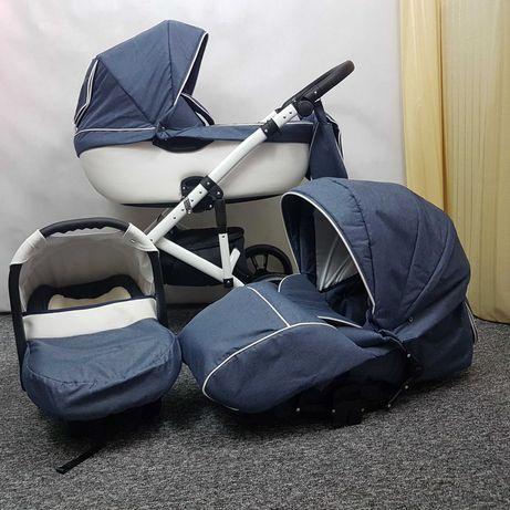 Wózek dziecięcy S-LINE 2w1 lub 3w1 powystawowy SZKRAB WITA