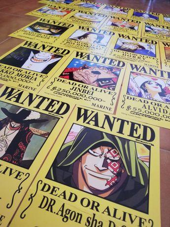 Posters da anime One Piece