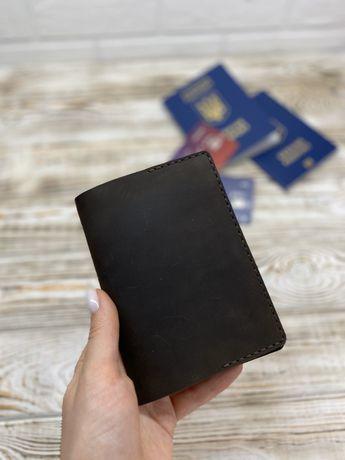 Обложка для паспорта, документов  из натуральной кожи
