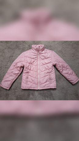 Różowa kurtka pikowana  rozmiar S