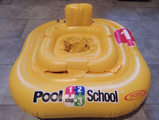 Nadmuchiwany fotelik na basen waga 11-15kg