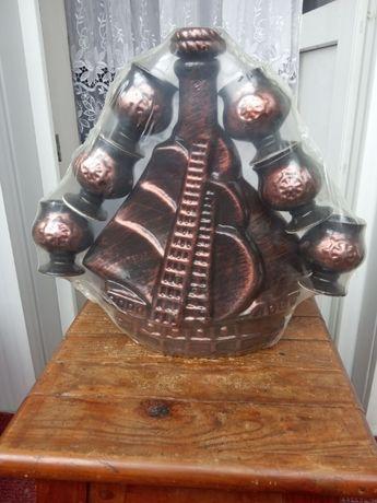 Сувенир набор посуды из глины