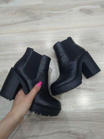 Czarne Botki H&M