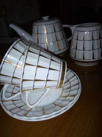 Набор чайной посуды - ленинградский фарфор
