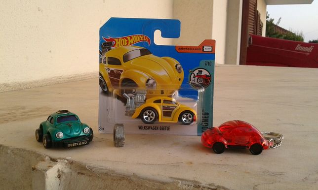 miniaturas Volkswagen New Beetle