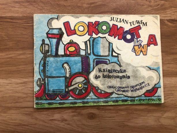 Książka dla dzieci Lokomotywa Julian Tuwim