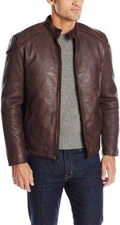 Новая кожаная куртка Emanuel Ungaro