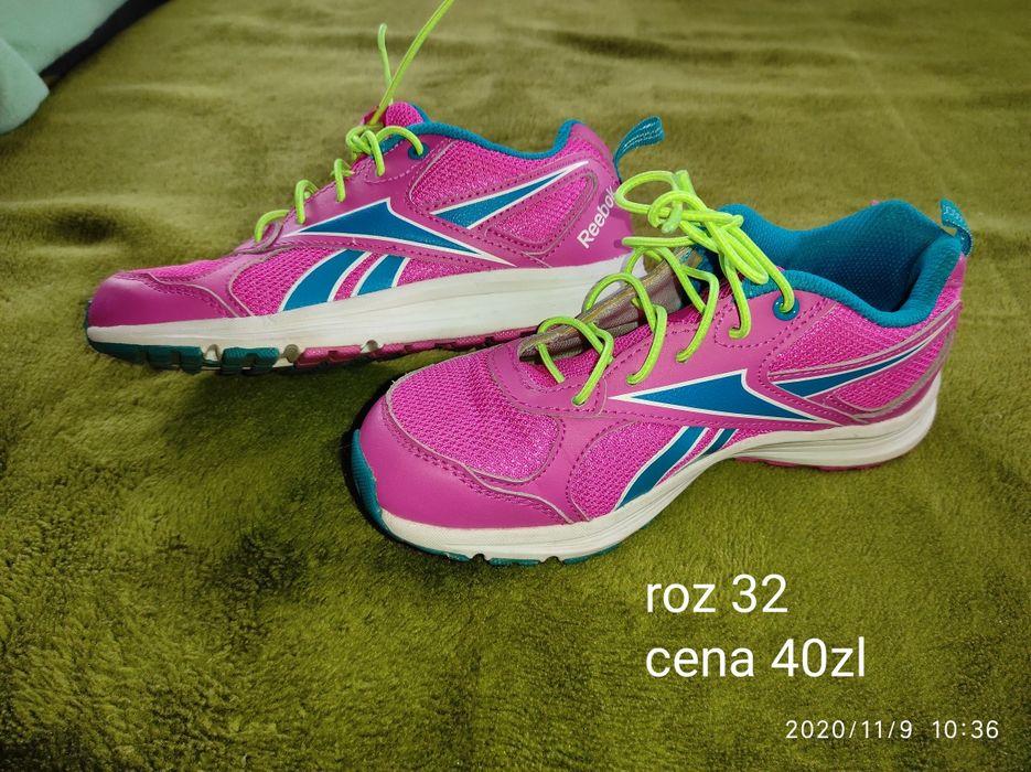 Buty Reebok różowe 32 Płock - image 1