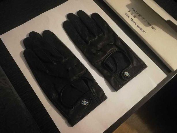 Luvas condução em pele originais BMW