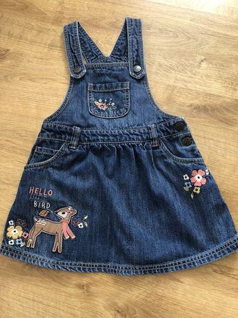 Sukienka ogrodniczka firmy F&F 3-4 lata