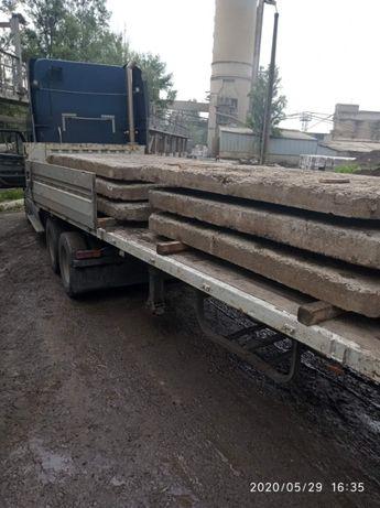 Плита дорожная бу (нал, безнал) с доставкой по Киеву и области