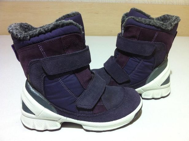 Зимние сапоги , ботинки ecco biom с gore-tex размер 29-30(19 см )