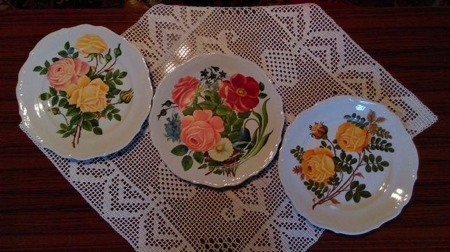 Sprzedam.Unikatowe,dekoracyjne, ręcznie malowane talerze,bez szablonu.