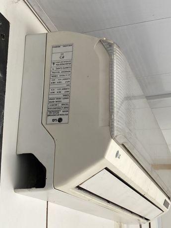Кондиционер LG дешевый бу на 20 кв.м охлаждение и обогрев