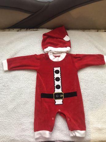 Продам новогодний костюм санты