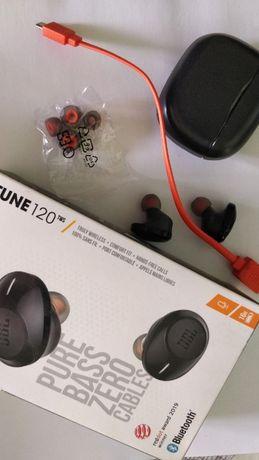 Навушники безпровідні JBL TUNE 120 Black