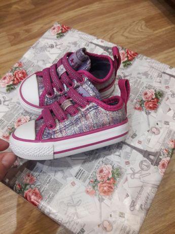 Детская обувь, Converse кеды,   шалунишки натуральная кожа