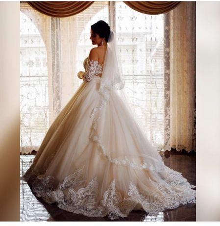 Свадебное платье от millanova