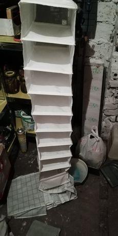 Organizery do szafy