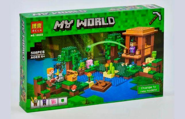 """Конструктор Bela Minecraft 10622 """"Хижина ведьмы"""", 508 элементов лего"""
