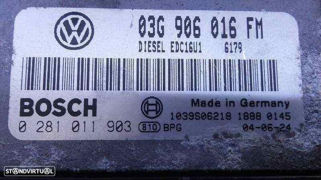03G906016FM  Centralina do motor VW GOLF V (1K1) 2.0 TDI 16V BKD