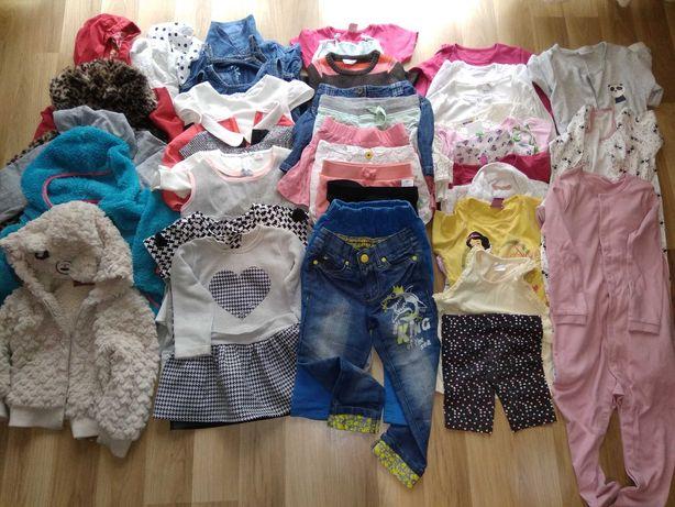 Paka nr.5 ubrań dla dziewczynki rozmiar 98-104.