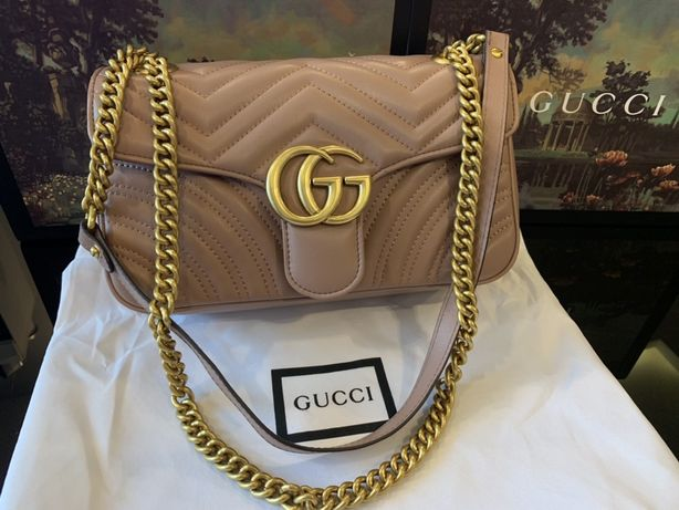 Torebka Gucci Marmont Nude Top Quality