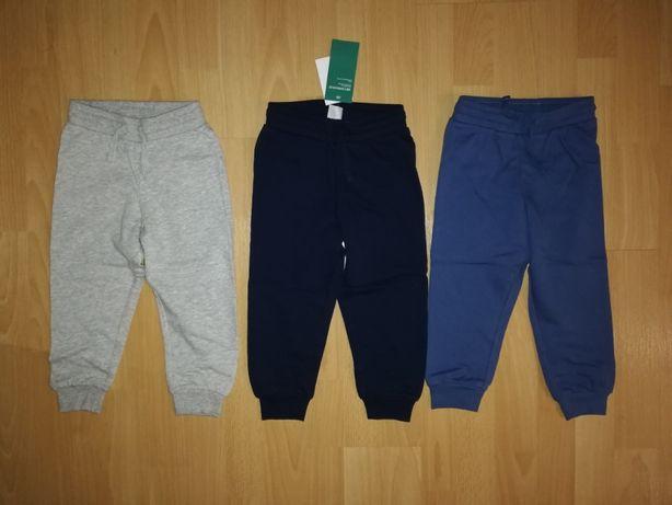 NOWE joggersy H&M 86, 92, 98, 104 spodnie dresowe