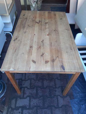 Stół drewniany 120x75