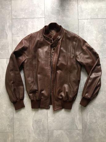 Мужская кожаная куртка Bally Gucci zilli оригинал