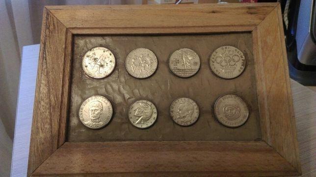 Szkatułka z monetami PRL