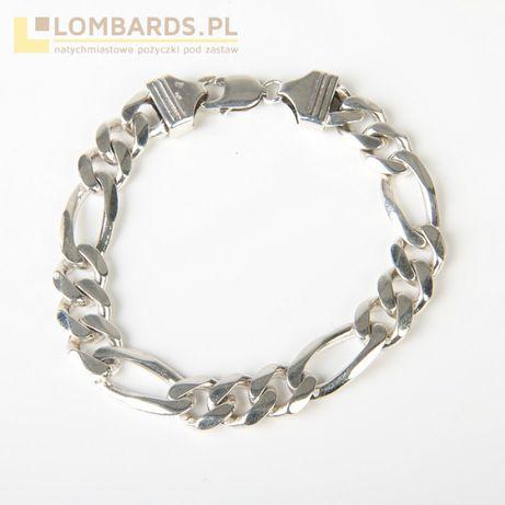 srebrna bransoleta p. 925 22cm