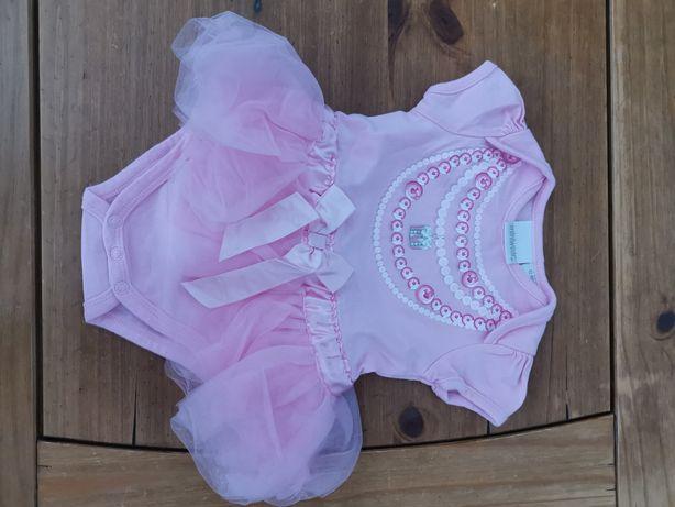 Body z tiulową spódniczką