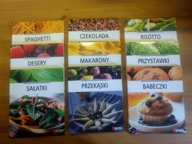 Nowa kuchnia włoska 9 części - b.dobry stan