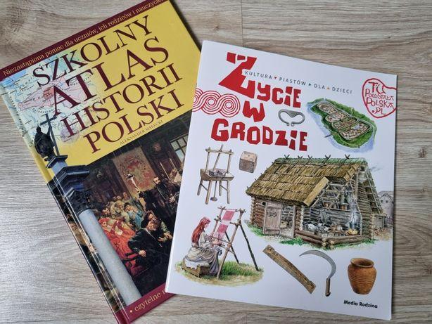 2 nowe książki atlas historia