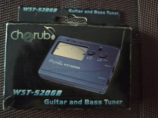 Тюнер для гитары Cherub WST-520GB