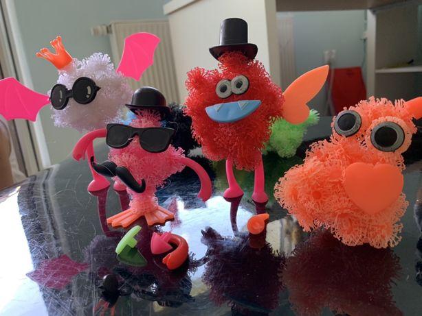 Rzepy czepy układanie figurek zabawka kreatywna