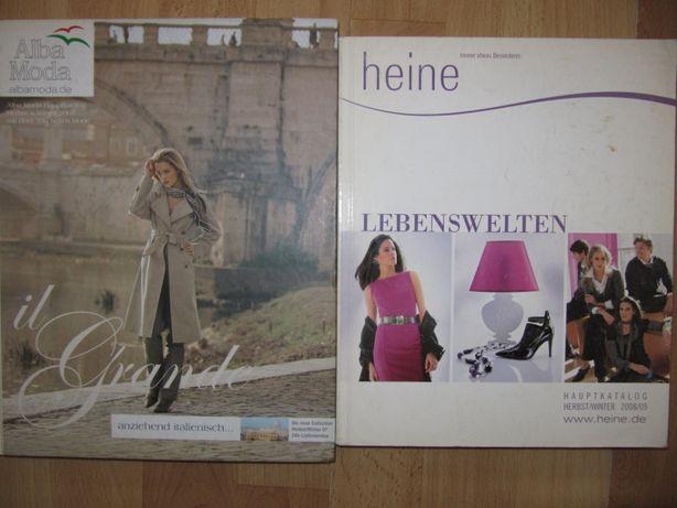 Журнал/журналы/мода/ОТТО/каталоги,/heine/alba