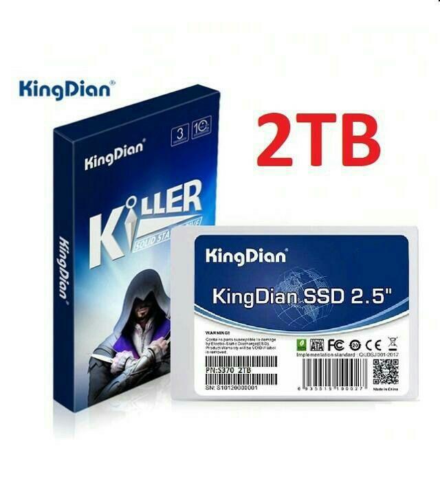 Ссд диск 2тб Kingdian ssd диск накопитель 2tb Киев - изображение 1