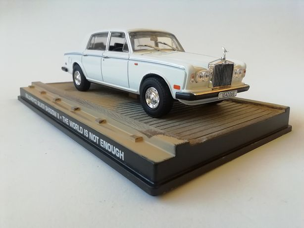 1/43 Rolls-Royce Silver Shadow II - James Bond (Miniatura - Eaglemoss)