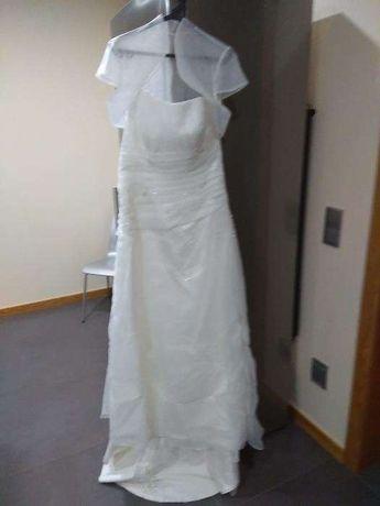 Vestido de Noiva branco..
