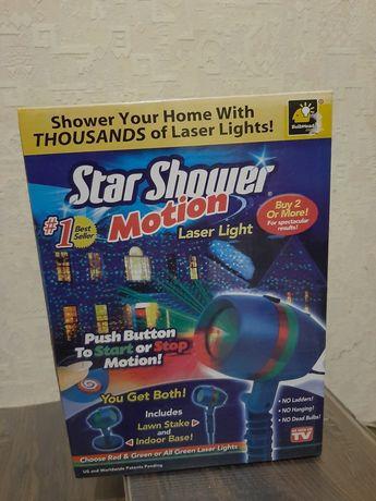 Лазерное украшение для дома star shower