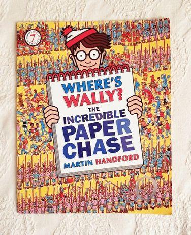 Książka nr 7 Gdzie jest Wally? Where's Wally? Martin Handford