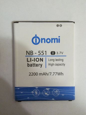 Аккумулятор NB-551 / lis1576erpc / lis1502erpc / bl-44jn