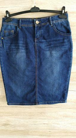 ORSAY JEANS ołówkowa spódnica denim jeans jeansowa rozmiar 42 XL