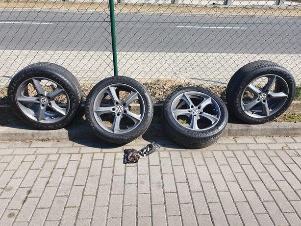 Koła letnie Continental Premium 6 + felgi Stilauto 17' + dodatki