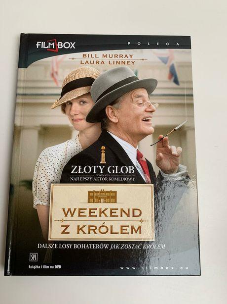 """DVD """"Weekend z królem"""". Laureat Złotego Globu. Z Billem Murrayem."""