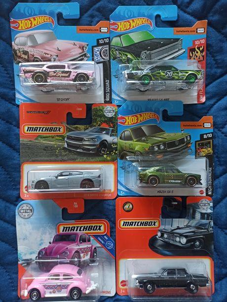 Hot wheels, matchbox volkswagen, ford, mazda, dodge