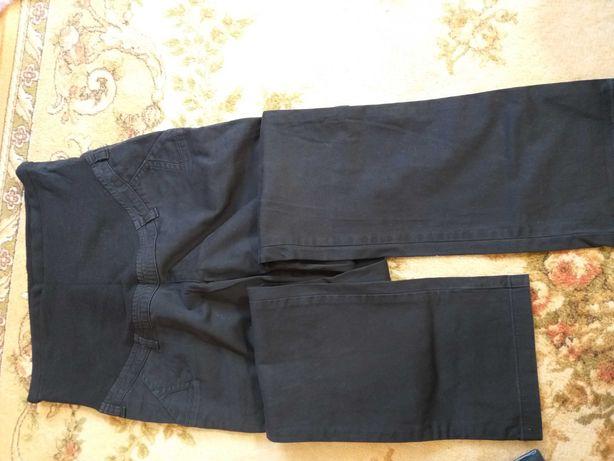 spodnie ciążowe czarne, materiał M branco